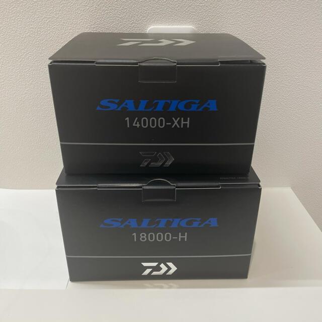 DAIWA(ダイワ)のソルティガ18000H ソルティガ14000XH スポーツ/アウトドアのフィッシング(リール)の商品写真
