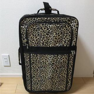 アナップ(ANAP)のANAP レオパードキャリーケース(スーツケース/キャリーバッグ)