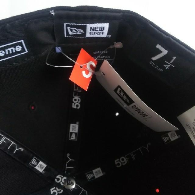 Supreme(シュプリーム)のSupreme Skull New Era® ブラック 71/4 メンズの帽子(キャップ)の商品写真