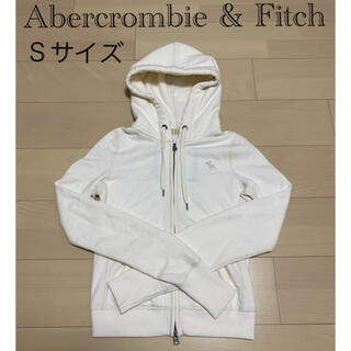 Abercrombie&Fitch - 【クラシックデザイン】アバクロンビー&フィッチ パーカー 白 エクリュ S