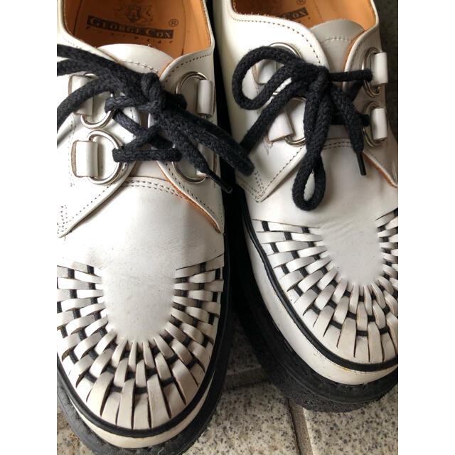 GEORGE COX(ジョージコックス)のジョージコックス ラバーソール 3588  イギリスサイズ 8 メンズの靴/シューズ(その他)の商品写真