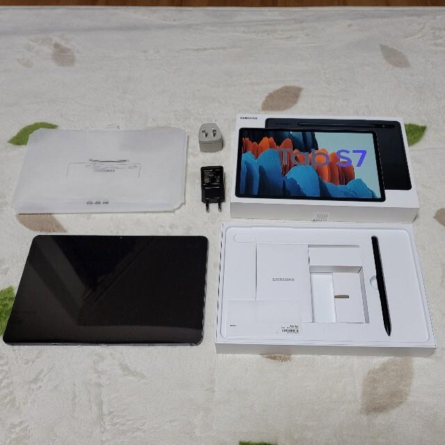 Galaxy(ギャラクシー)のGalaxy Tab S7 6GB 128GB 未使用に近い スマホ/家電/カメラのPC/タブレット(タブレット)の商品写真