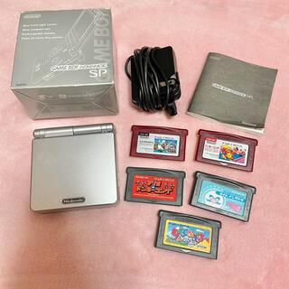 ゲームボーイアドバンス - ゲームボーイアドバンスSP カセット5個付き