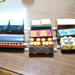 トミー(TOMMY)のプラレール トーマス 貨車 8点セット(電車のおもちゃ/車)