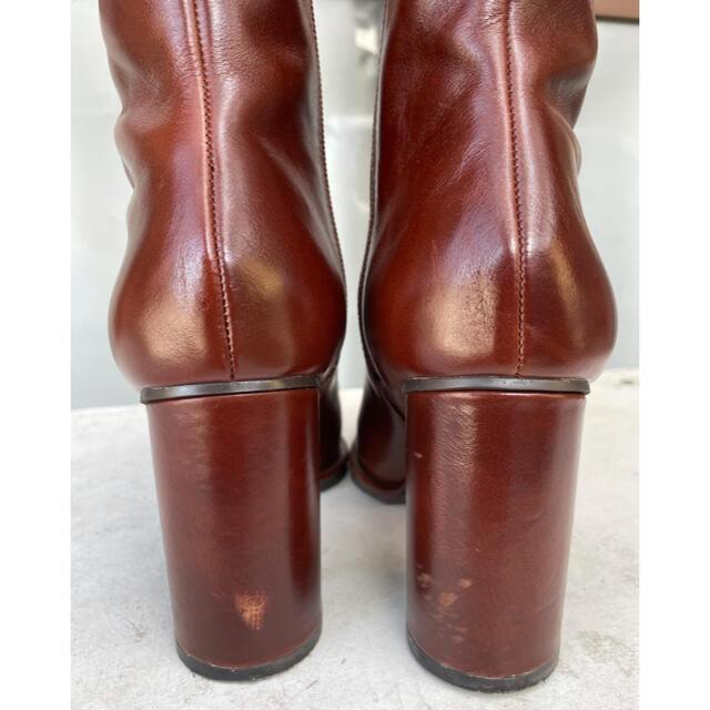 Ameri VINTAGE(アメリヴィンテージ)のameri UNDRESSED DIMENSIONAL SQUARE BOOTS レディースの靴/シューズ(ブーツ)の商品写真