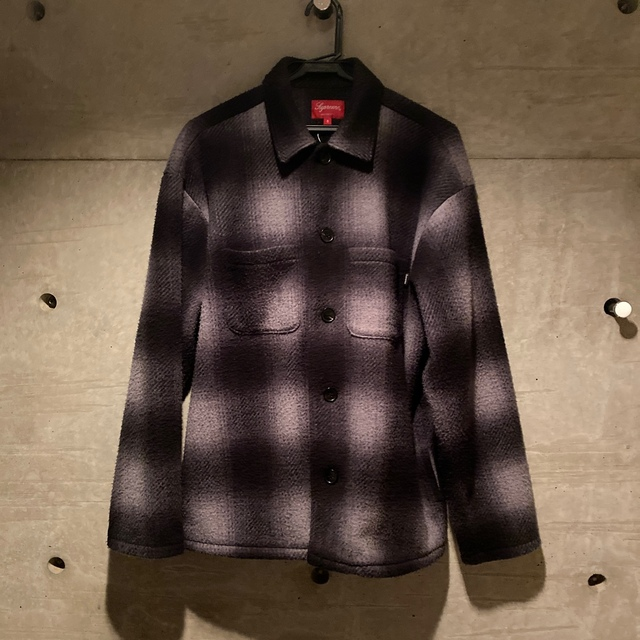 Supreme(シュプリーム)のsupreme shadow plaid fleece shirt メンズのジャケット/アウター(その他)の商品写真