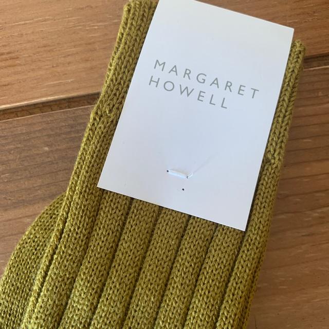 MARGARET HOWELL(マーガレットハウエル)のマーガレットハウエル 新品 レディースのレッグウェア(ソックス)の商品写真