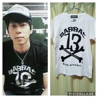 ヴァルゴ(VIRGO)のSABBAT13 クロスボーン Tシャツ M 細美武士(Tシャツ/カットソー(半袖/袖なし))