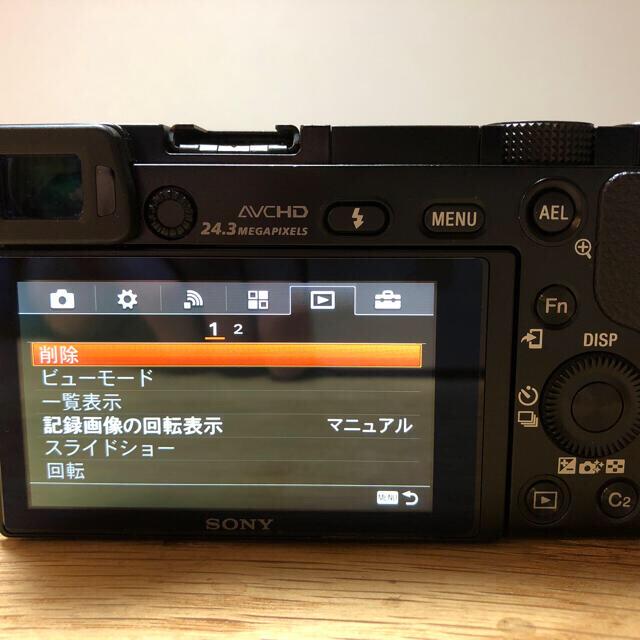sony a6000 α6000 6000 ボディ 本体 ブラック スマホ/家電/カメラのカメラ(ミラーレス一眼)の商品写真