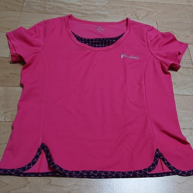 Paradiso(パラディーゾ)のパラディーゾ  テニスゲームシャツ スポーツ/アウトドアのテニス(ウェア)の商品写真