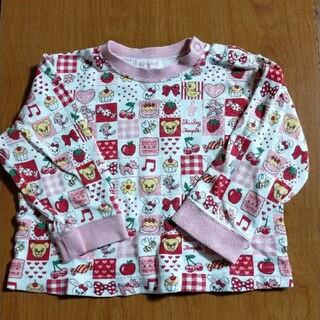 シャーリーテンプル(Shirley Temple)のシャーリーテンプル 長袖Tシャツ 80(Tシャツ)