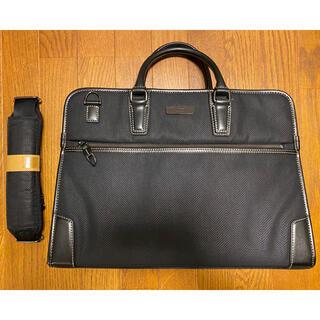 タケオキクチ(TAKEO KIKUCHI)のタケオキクチ ブリーフケース ビジネスバッグ ショルダーバッグ ブラック(ビジネスバッグ)