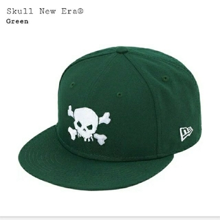 シュプリーム(Supreme)のSupreme Skull New Era® グリーン 71/4(キャップ)