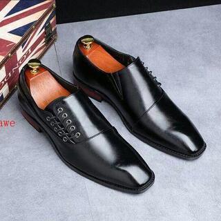 Uビジネスシューズ メンズ 紳士靴 グラデーション 革靴 イギリス風 通勤R