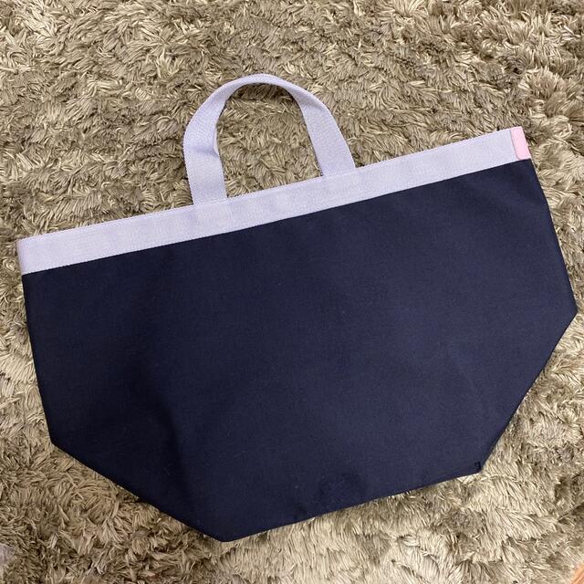 Herve Chapelier(エルベシャプリエ)のエルベシャプリエ 725CS ノワール×シルバー×ドラジェ レディースのバッグ(トートバッグ)の商品写真