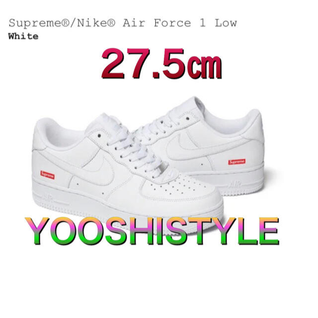 Supreme(シュプリーム)のSupreme® Nike® Air Force 1 Low メンズの靴/シューズ(スニーカー)の商品写真