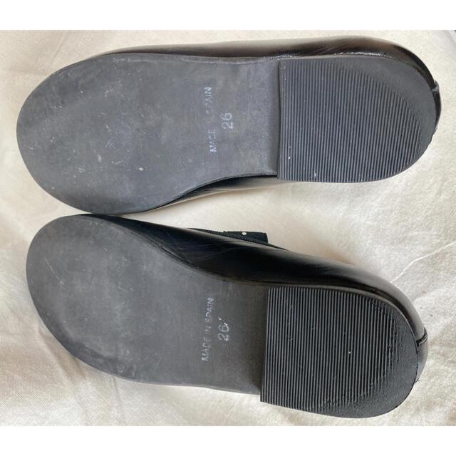 Bonpoint(ボンポワン)のbonpoint フラットシューズ26 キッズ/ベビー/マタニティのキッズ靴/シューズ(15cm~)(フォーマルシューズ)の商品写真