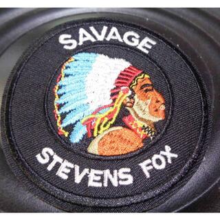 新品サベージSAVAGE SEVENS FOXインディアン刺繍ワッペン(パッチ)(その他)