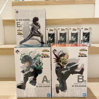 BANDAI - 一番くじ ヒロアカ フィギュア Go And Go!