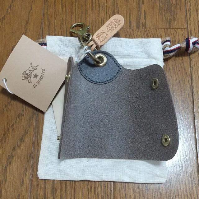IL BISONTE(イルビゾンテ)の新品未使用 イルビゾンテ IL BISONTE キーケース キーホルダー メンズのファッション小物(キーケース)の商品写真