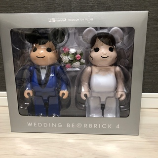 MEDICOM TOY - BE@RBRICK グリーティング 結婚 4 PLUS 400%