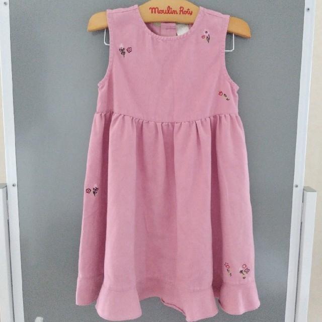 babyGAP(ベビーギャップ)のbaby GAP ワンピース 100 キッズ/ベビー/マタニティのキッズ服女の子用(90cm~)(ワンピース)の商品写真