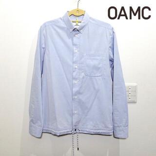 Jil Sander - OAMC シャツ ドローコード付き ライトブルー Sサイズ メンズ ジルサンダー