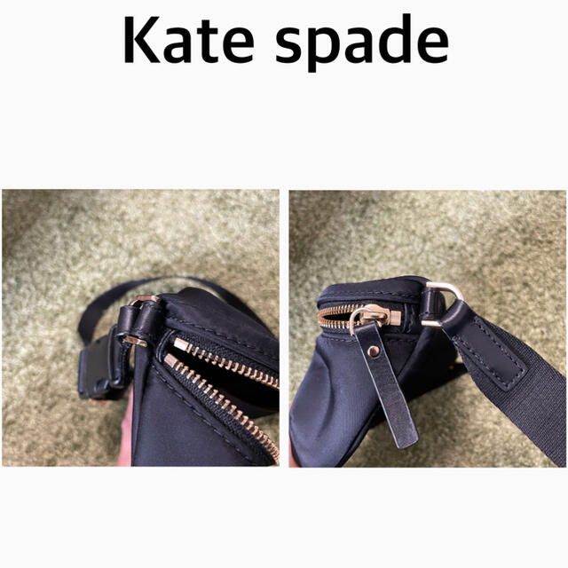 kate spade new york(ケイトスペードニューヨーク)のKate spade new york ウエストポーチ ブラック レディースのバッグ(ショルダーバッグ)の商品写真