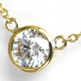 Tiffany & Co. - 18K YG 天然ダイヤモンド バイザヤードタイプネックレス