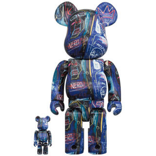 MEDICOM TOY - BE@RBRICK JEAN-MICHEL BASQUIAT 7 100&400