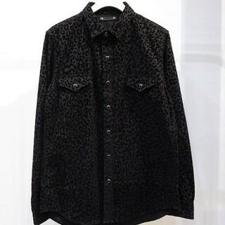 HYSTERIC GLAMOUR - マインデニム レオパードシャツ