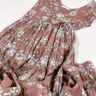 IENA - 美品 IENA MARIHA 草原の虹のドレス マリハ