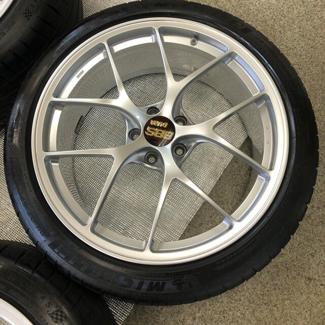 BBS RI-D 20インチ 114.3 5H 超超ジュラルミン 自動車/バイクの自動車(タイヤ・ホイールセット)の商品写真