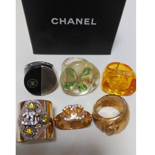 CHANEL - CHANELリング6個セット
