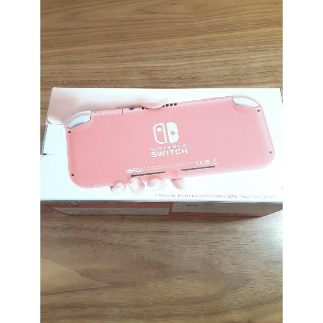 Nintendo Switch(ニンテンドースイッチ)のNintendo スイッチライト 本体 エンタメ/ホビーのゲームソフト/ゲーム機本体(携帯用ゲーム機本体)の商品写真