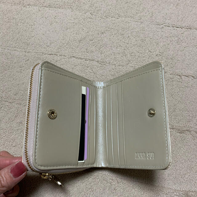 ANNA SUI(アナスイ)のヤマ3様専用 新品☆ アナスイ のローズハート2つ折財布 箱付 レディースのファッション小物(財布)の商品写真