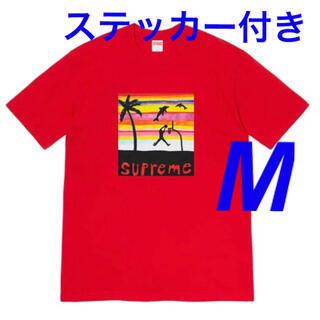 Supreme - 【レッドM/即発送】Supreme Dunk Tee 2021SS Week8