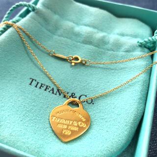 Tiffany & Co. - Tiffany ティファニー ネックレス ハート タグ ペンダント 18K