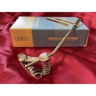 ギブソン(Gibson)の美品 GOLDO Les Trem II Chrome TLT1C トレモロ(エレキギター)