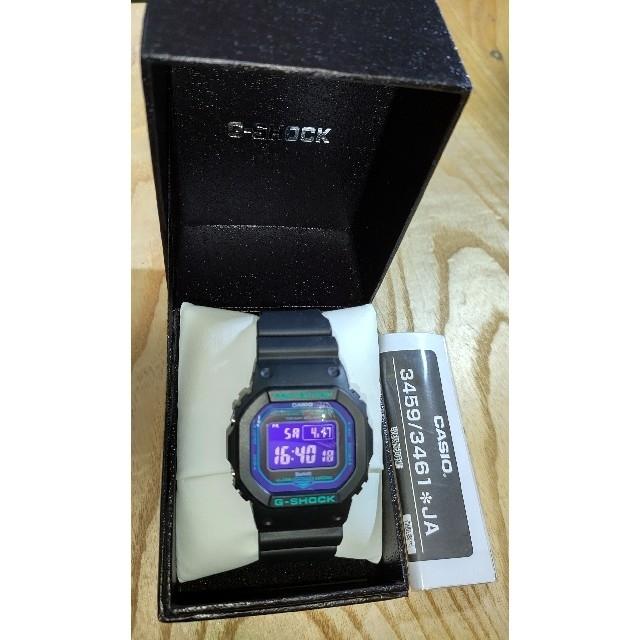 G-SHOCK(ジーショック)のCASIO G-SHOCK GW-B5600BL-1JF  電波ソーラー  美品 メンズの時計(腕時計(デジタル))の商品写真