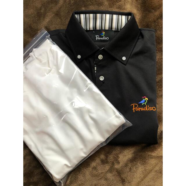Paradiso(パラディーゾ)のParadiso ポロシャツ インナー セット スポーツ/アウトドアのゴルフ(ウエア)の商品写真
