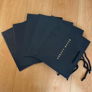 Ralph Lauren - 値下げ RALPH LAUREN 紙袋 6枚セット ギフトバック ラッピング