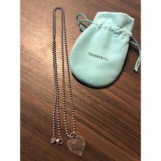 Tiffany & Co. - ティファニー シルバー ハート ネックレス