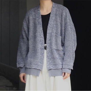 SUNSEA - yoke 5G Connecting Rib Cardigan xs 1