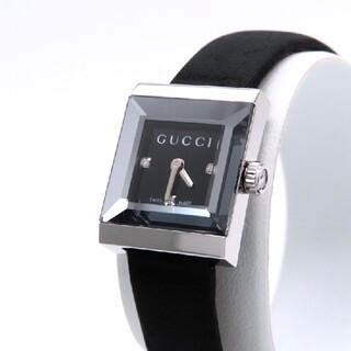 Gucci - 【GUCCI】グッチ 時計 'Gフレーム' ダイヤモンド ブラック ☆極美品☆