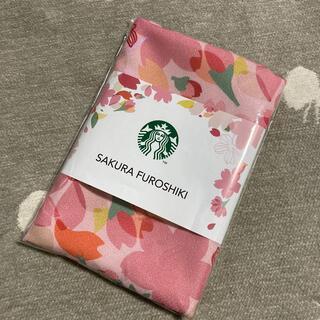 スターバックスコーヒー(Starbucks Coffee)の【新品】SAKURA 2018 FUROSHIKI(日用品/生活雑貨)