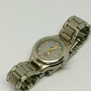 エルジン(ELGIN)の【稼働良品】エルジン デイデイト TITANIUM 1Pダイヤ レディース腕時計(腕時計)