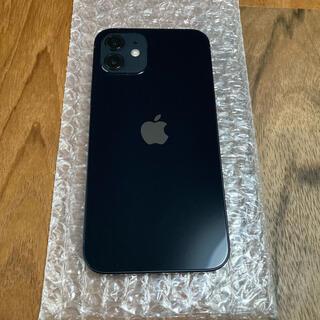 Apple - 【美品】iPhone12 64GB ブラック SIMフリー