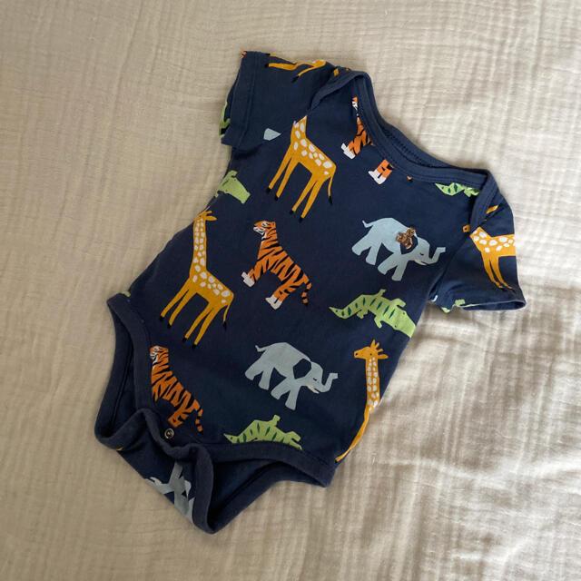 babyGAP(ベビーギャップ)のBABY gap アニマル柄ロンパース 80 キッズ/ベビー/マタニティのベビー服(~85cm)(ロンパース)の商品写真