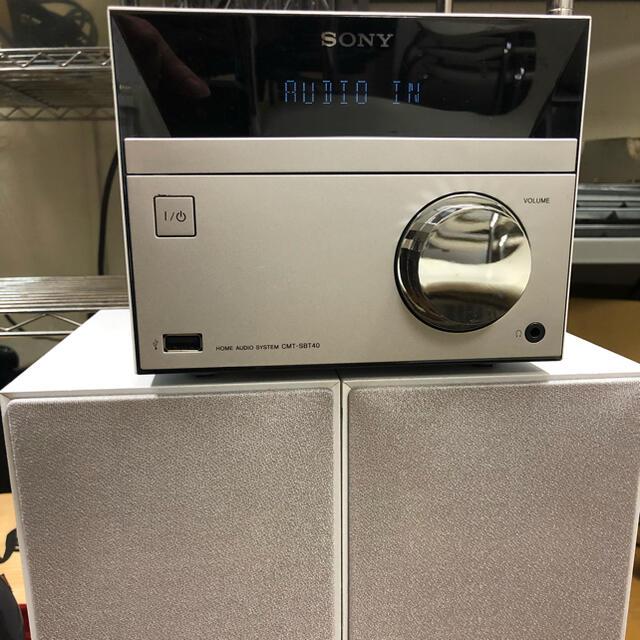 SONY(ソニー)のSONY  コンポ CMT-SBT40 スマホ/家電/カメラのオーディオ機器(スピーカー)の商品写真